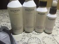 Balmain hair extension products and extension remover