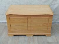Modern Birch storage blanket box (Delivery)