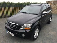 2007 57 KIA SORENTO 2.5 XT *AUTOMATIC* DIESEL 4x4 - *LOW MILEAGE* - LONG M.O.T - CHEAP EXAMPLE!