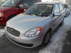 2008 HYUNDAI ACCENT GL,auto,ac,pwr groupe,113K