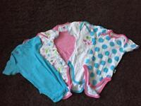 Baby Jockey short sleeved popper vests