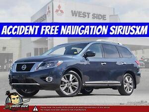 2015 Nissan Pathfinder Platinum–Accident Free–Satellite Radio–Na