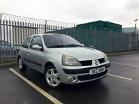 2005 Renault Clio Dynamique, Passed MOT last week, new rear tyres fitted