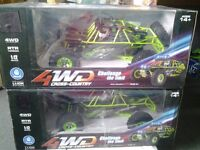 2x 1/12 scale rc off road 4wd sand rail short course rc buggy's all rtr