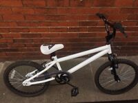 20 inch BMX, hardly used, excellent condition £60
