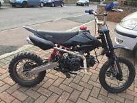 *140cc YX Stomp Pitbike Dirtbike Manual Quad Bike*