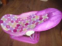 Summer Infant Deluxe Pink Bather Baby Bath Support Seat