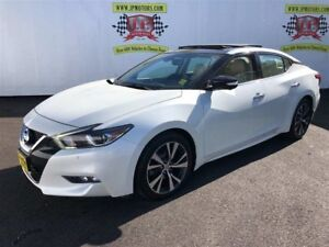 2016 Nissan Maxima Platinum, Navigation, Leather, Sunroof