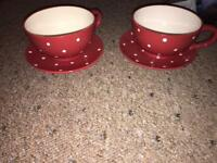 Large coffee cups