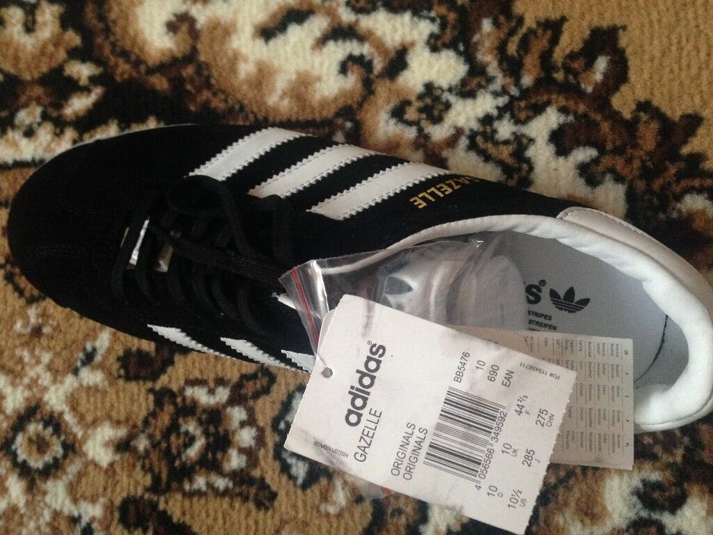 Original Adidas Gazelle Trainers Size 10 Brand New With Tags In