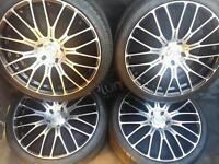20 inch 5x120 alloys wheels