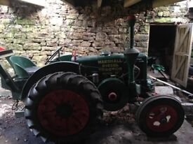 Original 1938 Marshall Model M Tractor