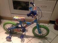 """For Sale Kids Moshi Monsters 14"""" Bike With Stabilisers"""