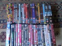 Joblot of DVD's, all genre's and box sets. 51 in total.