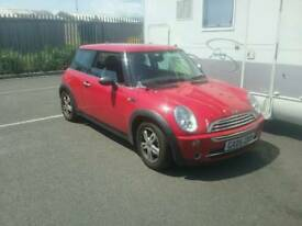 MINI COOPER 2005 - LONG MOT, CHEAP RUNNER....