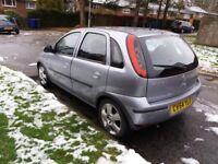 2004 Vauxhall Corsa drives superb but Repairs