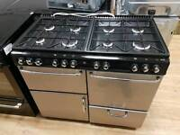 Newhome Gas Double oven Range cooker 100cm width