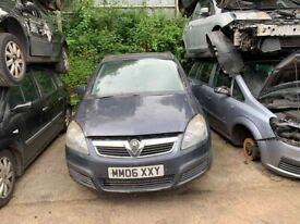 BREAKING Vauxhall Zafira Life 1.6 Blue MPV door bumper wing window glass front rear offside nearside