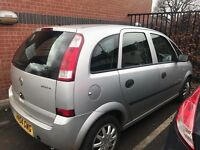 1.6 meriva lpg converted very tidy car inside and out for its age