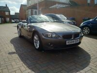 2004 BMW Z4 2.5 MANUAL SPORTS CONVERTIBLE - 12 MONTHS MOT FULL LOGBOOK LOW MILEAGE 76K