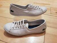 Ladies Lacoste trainers size 6