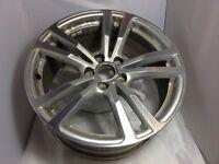 "Audi A3 18"" SLINE Alloy Wheel Diamond Cut ET46 8J H2 5x112 8V0 601 025 BC"