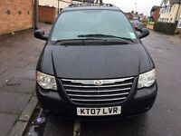 2007 CHRYSLER GRAND VOYAGER EXECUTIVE XS 2.8 CRD STOW N GO HPI CLEAR VAUXHALL ZAFIRA FORD GALAXY