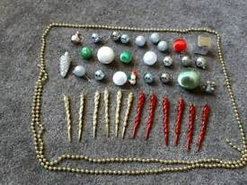 Christmas Baubles and Beads.