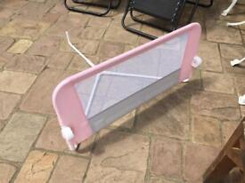 As new side panel for toddler bed