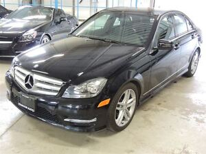 2012 Mercedes-Benz C-Class, SUNROOF, 4MATIC, BLUETOOTH, LEATHER