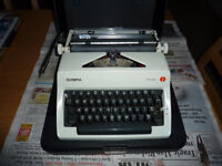 Olivetti Olympia Monica PortableTypewriter