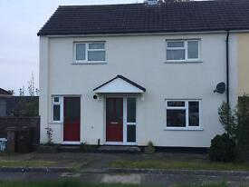 2 bedroom house with front and back garden