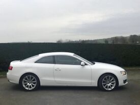 Audi A5 Coupe - White