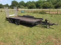 Car transporter trailer 1.8m wide and 4.25m long