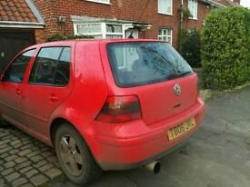 VW GOLF GTI 1 year mot. £350 ONO