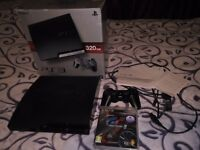 PS3 slim 320 GB in good condition