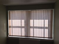 Free White Vertical Blinds