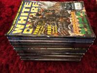 White Dwarf Magazines - 34 Issues - Games Workshop - Warhammer
