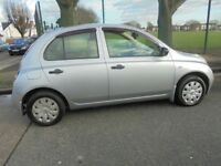 Nissan Micra 1.2 S Automatic, 5 door, 2004 (04) cheap to run