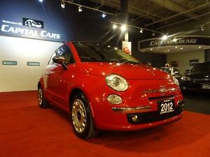 2012 Fiat 500C LOUNGE / CONVERTIBLE / BLUETOOTH