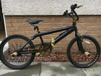 Black and gold Rooster BMX bike