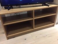 TV stand with Beech Effect good for 43 inch TVs