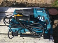 Makita hr2610 sds drill 110v
