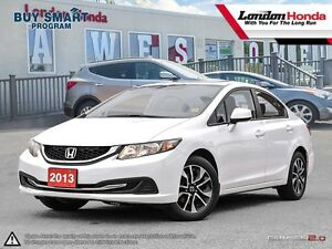 2013 Honda Civic EX Purchased New at London Honda, Full Servi...