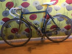 Peugeot PSV Vintage Road Bike. Fullly serviced, including new chain, tyres and inner tubes.