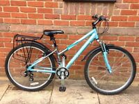 "Ladies 26"" wheel Barracuda Kansas bike, good condition. With stand, mudguards and optional panniers."