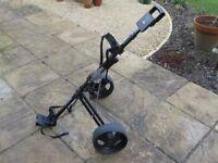 Golf King Folding Trolley - Sturdy, light & compact