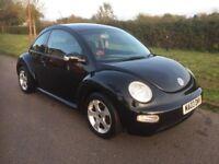 2003 Volkswagen Beetle 1.6 - Full Service History/New MOT