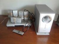 5 Panasonic Surround sound speakers & Subwoofer