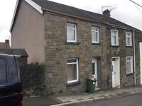 Large two bedroom house 47 Allen st ,cae garw mt ash. quite street parking outside the house